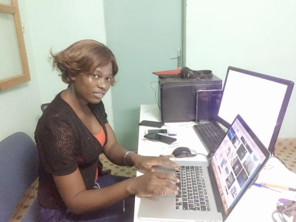 Votre FemTic dans les locaux de l'agence UBICOM pour une formation