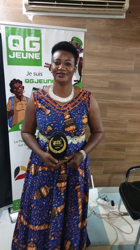 Lauréate Catégorie Meilleur blogueur 2019 FemTic