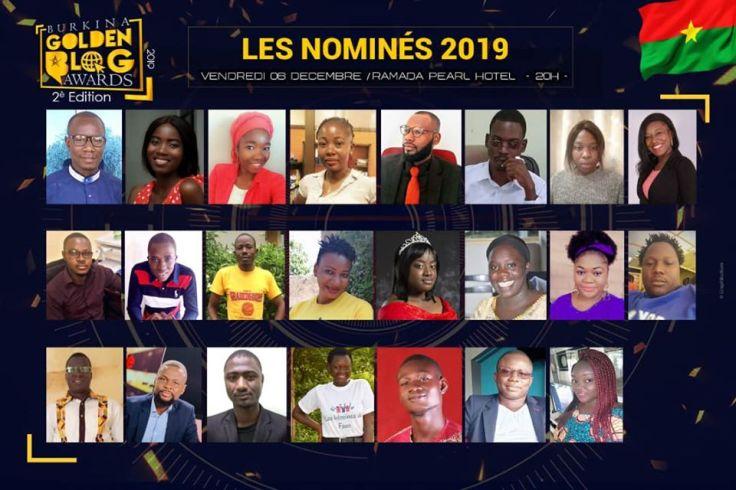Les nominés au BGBA